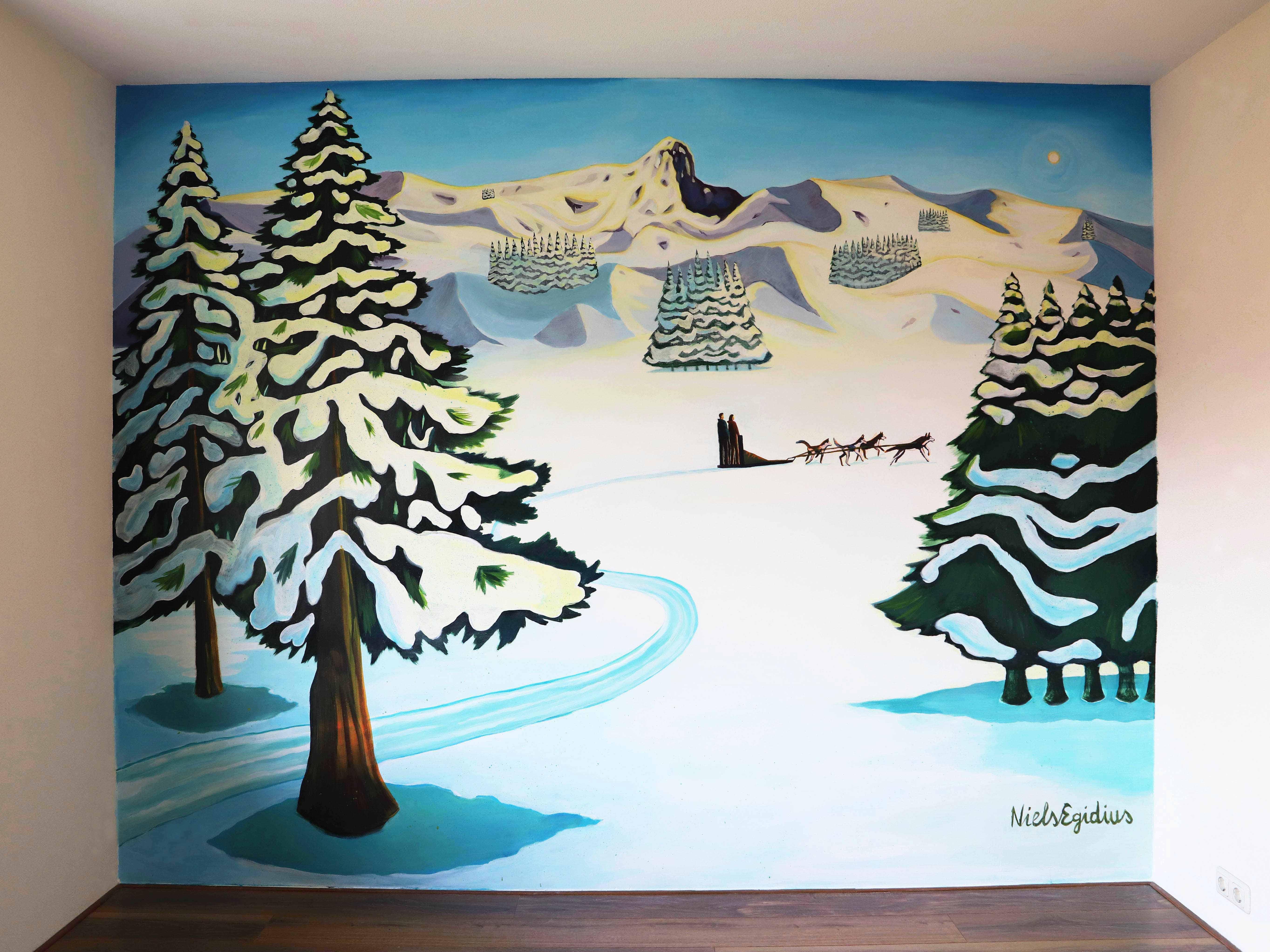 Norway Mural